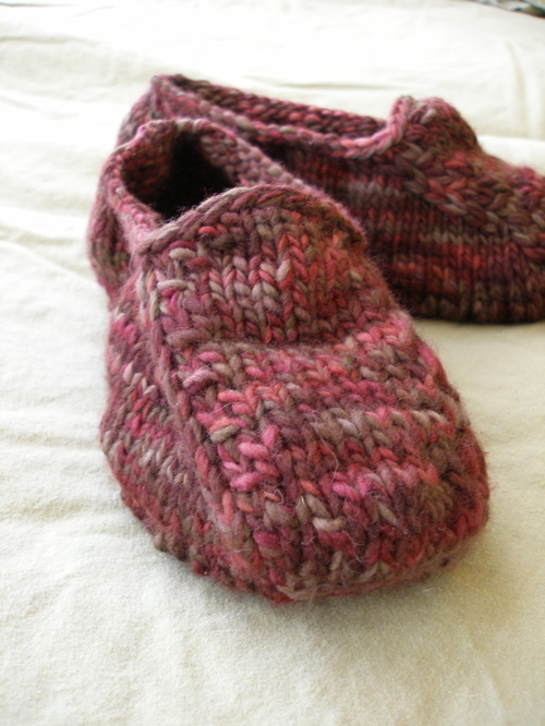 Knit 'Bass Weejuns' for Dad